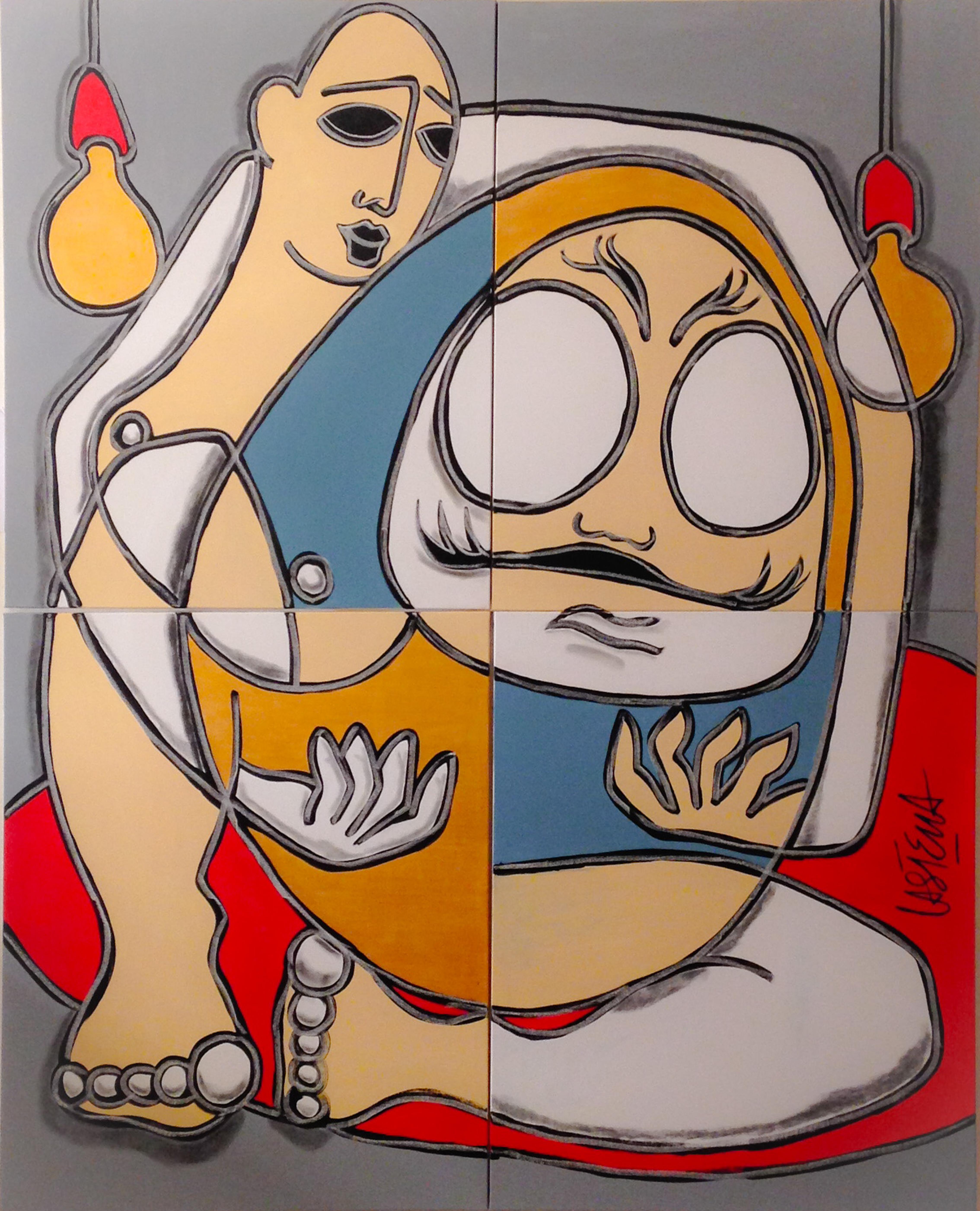 castella-love daruma- 200 x160