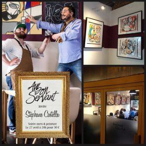 Exposition Au Bon Servant -Castella