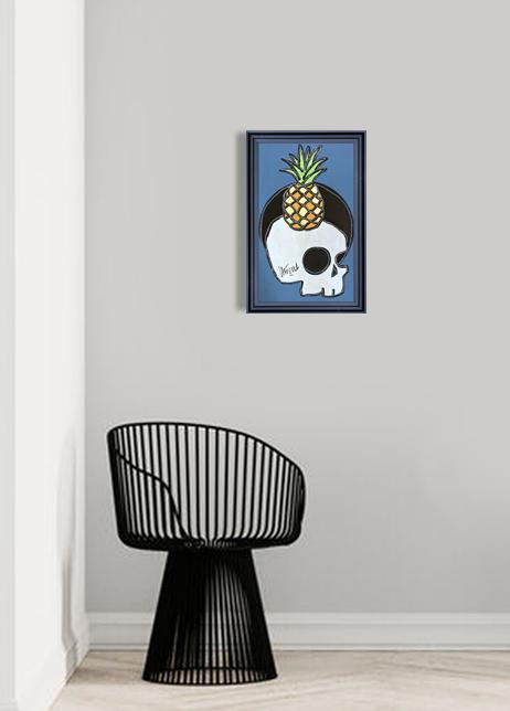 castella - sur ma vanité, l'ananas- 2021 int