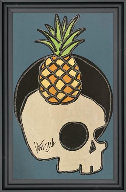 castella - sur ma vanité, l'ananas- 2021